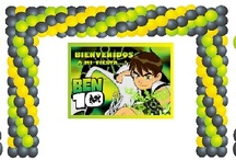Balões - Ben 10