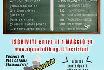 SQcuola di Blog chiama gli Informagiovani di tutta Italia / Tutte le città d'Italia sono chiamate a partecipare a classe 8 di SQcuola di Blog: ci piacerebbe che ogni regione potesse aderire con almeno uno studente / by SQcuola di Blog