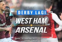 Prediksi Liga Inggris West Ham vs Arsenal 14 Desember 2017
