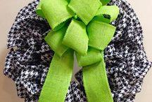my wreaths / by Carla Crenshaw