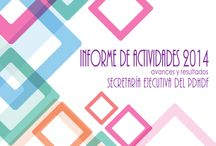 Informe de actividades 2014: avances y resultados / Secretaría Ejecutiva del Mecanismo e Seguimiento y Evaluación del Programa de Derechos Humanos del Distrito Federal