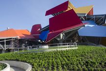 Cool architectures / All colourful, brilliant, green and airy architectures