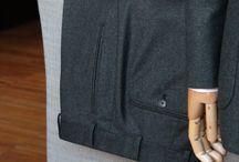 Loro Piana Flannels 330 gr. wool & cashmere / https://www.facebook.com/media/set/?set=a.10152147457449844.1073742072.94355784843&type=1  #mtm #madetomeasure #loropiana #flannels #buczynskitailoring #buczynski