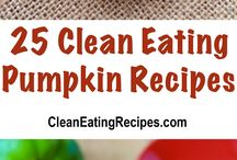 Best Clean Eating Pumpkin Recipes / Here are the best clean eating pumpkin recipes you will ever find. Fresh pumpkin from the garden, farmers market or road side stand taste the best!