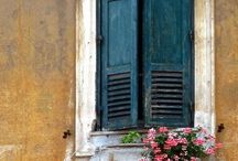 Country Charm / Shutters have been around for centuries. They were used for visual effect as well as for their practical functions.Shutters are timeless.
