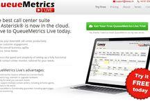 QueueMetrics-Live / The best call-center suite for Asterisk is now cloud-based. / by QueueMetrics