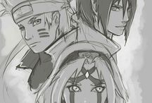 Team / Team of three and sensei