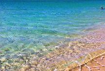 Mikri Vigla / Mikri Vigla beach, a paradise beach ideal for windsurfing and kitesurfing.