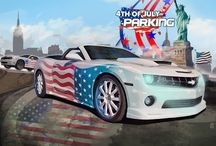 4th of July Cars Cartoon