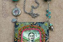 collar fida kahlo