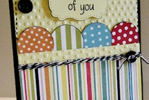 Card making: Thinking of you / by Isabelle Potter @ IzzyCards