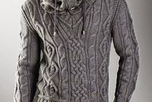 Svetry / pletené svetry