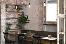Restaurant ideas / Vintage, rustic, chic decor