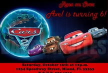 davids cars 2 birthday party / by Stacy Mayo