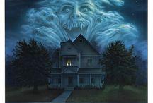 horror movie art