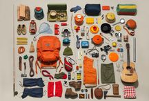 Outdoor Gear Knolling - Ski - Bike - Fish - Surf / Beautifully arranged photos of outdoor gear and packing guides for surfing, fly fishing, skiing, snowboarding, and biking. #knolling #gear #trxstle #tightlinesofallkinds
