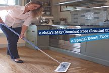 Floored!: e-cloth's May Chemical Free Cleaning Challenge