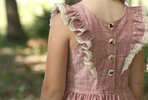 Vintage children outfits
