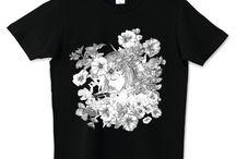 manga artist t-shirts