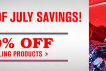 4th of July SALE / JLM 4th of July SALE! 35% off suspension parts! 40% off wiring!  50% off Heat & Sound Barrier!