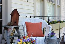 Front Porch Decorations / by Andrea Sturgill