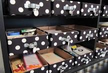 storage/organize ideas / by Jennifer Minier Albrecht