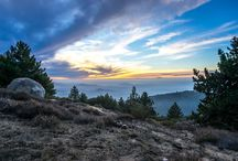 Steven Cox Instagram Photos Sunset on fire. When we visited Idyllwild.  #sunset #california #idyllwild #hdr