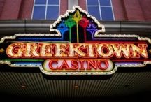 Indian Trails   Greektown Casino / Indian Trails offers scheduled line run shuttle service to Greektown Casino in Detroit with twelve convenient pick-up locations throughout the surrounding Detroit area.   http://indiantrails.com/casino-trips
