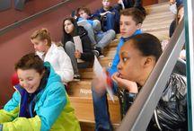 Réalisation de carnets de voyages 404 / Collège Victor Hugo -  année  2014 -15  Exposition CDI - Carnets de voyage  réalisés par les 4è4 en Juin 2014  projet carnet de voyage dans la ville - Besançon