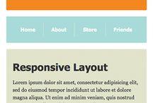 Web Design - Responsive Layouts