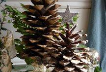 Juldekoration / Dekorationer och pynt till jul.