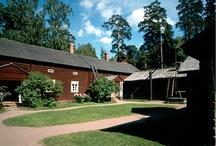 Historia, paikkoja Suomessa - Historical places in Finland / Historiallisia paikkoja yms. Suomessa, Suomi - Historical places  in Finland