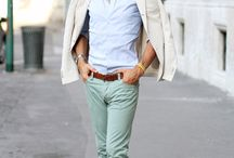 fashion style middle aged man