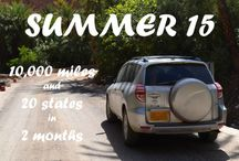 | Summer 15 - Road Trip| / Summer 2015 - Cross Country Road Trip!!!