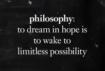 dream in hope  / by philosophy skin care