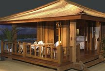 bungalow de madera  100 % reciclada