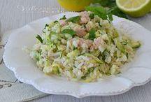 riso freddo tonno zucchine e limone
