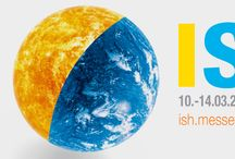 ISH 2015 / The world's biggest trade fair for sustainable sanitary solutions, innovative bathroom design, energy-efficient heating, air-conditioning and building-services technology and renewable energy will once again open its doors in Frankfurt am Main from 10 to 14 March 2015. There we are!