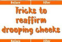dropping cheeks