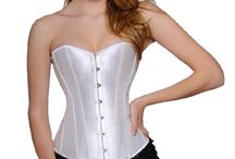 White Corsets @ UnisexCorsets.com / White Corsets For Gals & Da Guys. / by UnisexCorsets.com