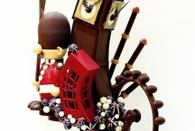 chocolate (sculpting and truffles)