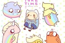 Adventure Time*-*
