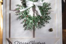 Cards Christmas Doors and Windows / by Joan Tallent