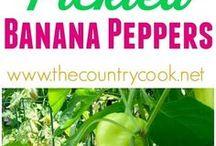Banana peppers