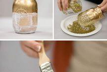 Tischdeko/ Einmachglas/ DIY wedding