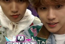 Sandeul and Jin Young