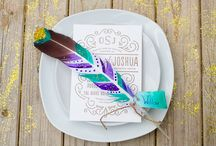 Feather painting idea