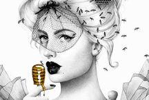 Bee art