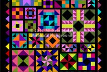 Aiming for Accuracy II / I'm teaching a new beginner's quilt in 2015, Aiming for Accuracy II.  Come join us: http://mishkasplayground.com/2015-quilt-along/ / by Michele Foster