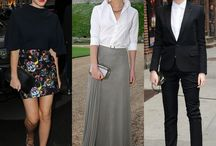 Celebrities' best choices / My favourite pices, oufits from stylish celebrities